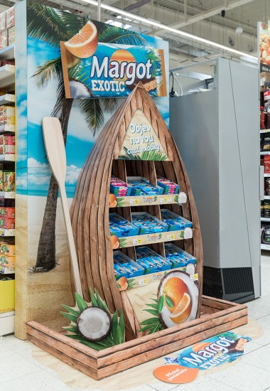 END CAP MARGOT EXOTIC
