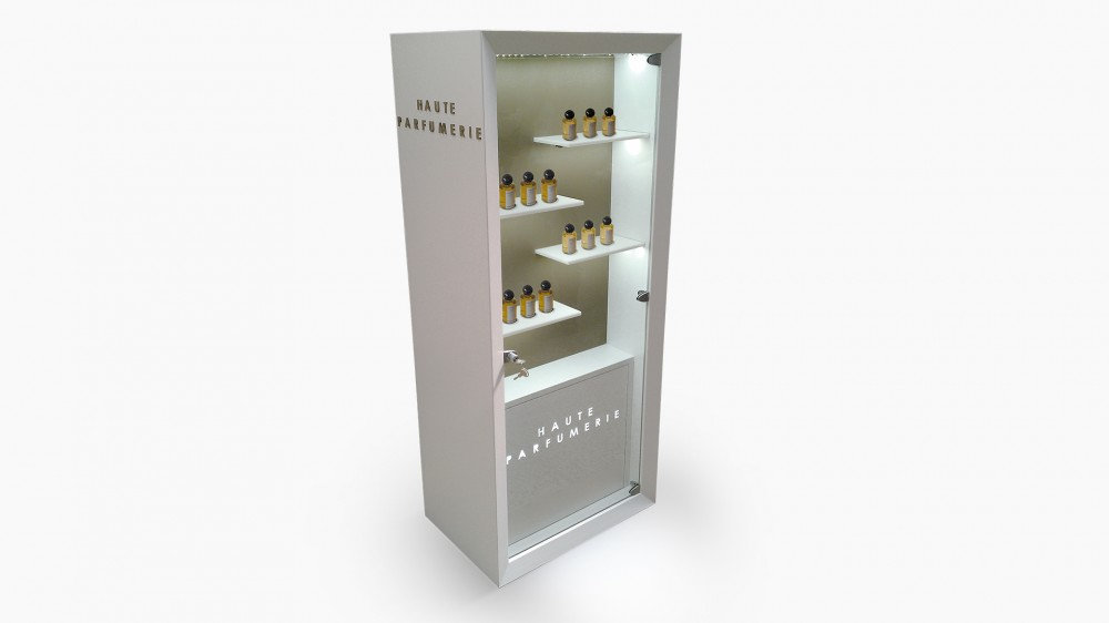Haute Parfumerie - floor displays