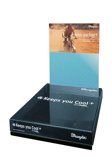 Wrangler Keeps You Cool - Counter Displays