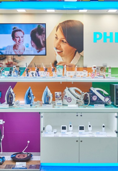 Philips  - In-store design