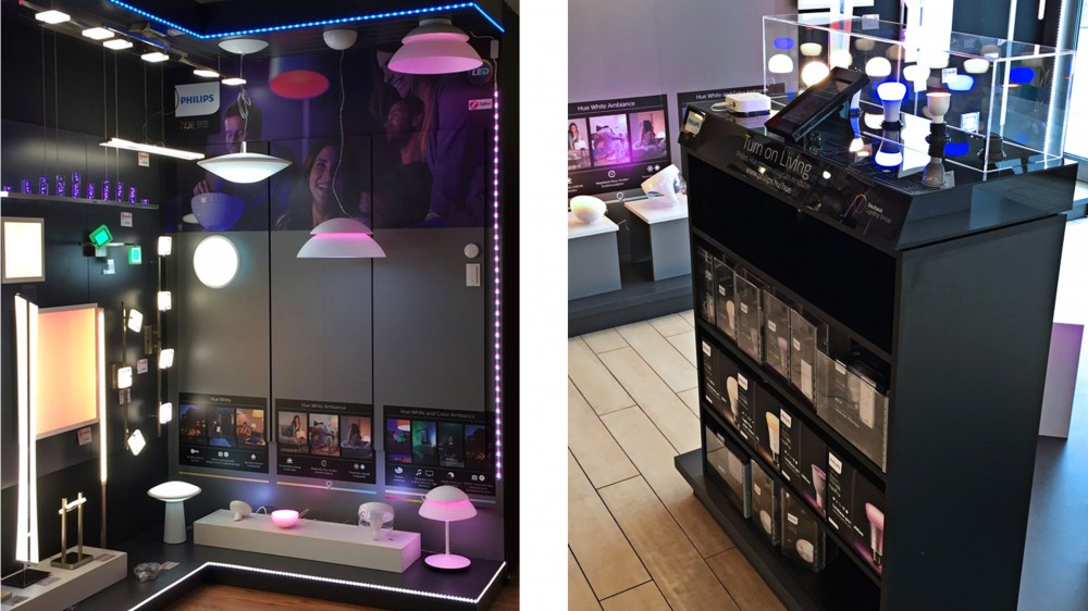 Philips Hue - shop in shop
