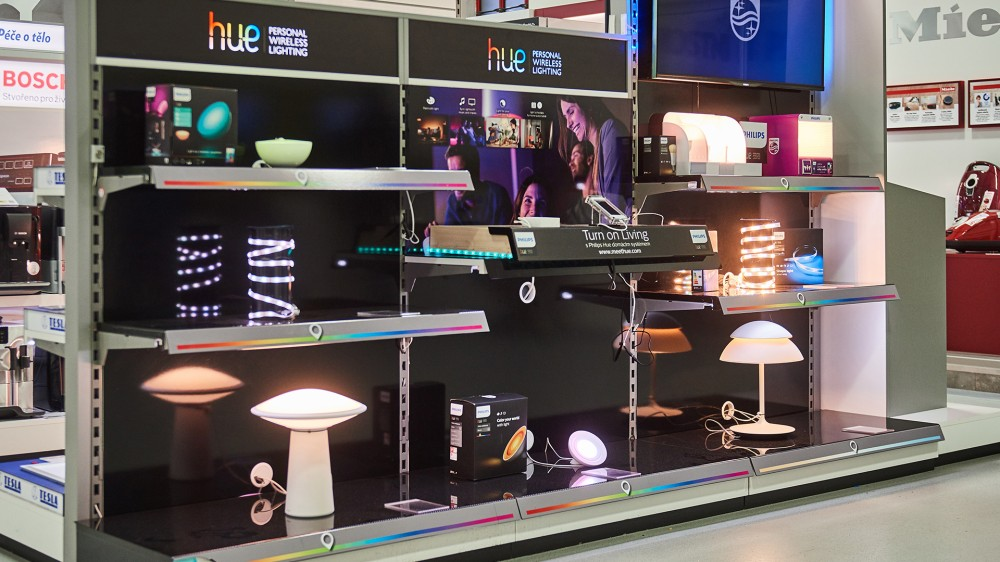 Philips Hue, 1 - shop in shop