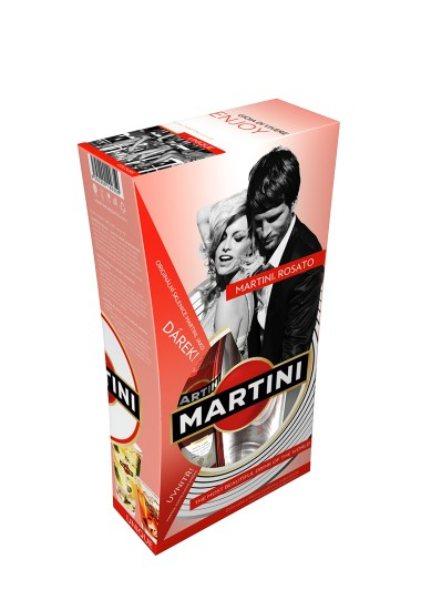 Martini Rosato - premium packaging