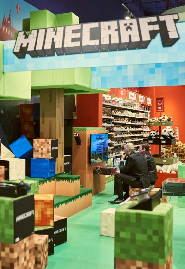 Minecraft - shop in shop