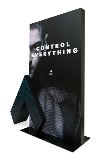 Adidas Control Everything - floor displays