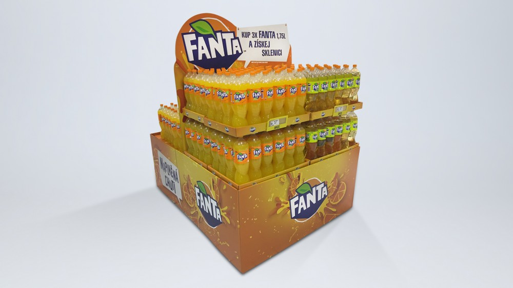 Fanta Spiral, 1 - Palette Decoration