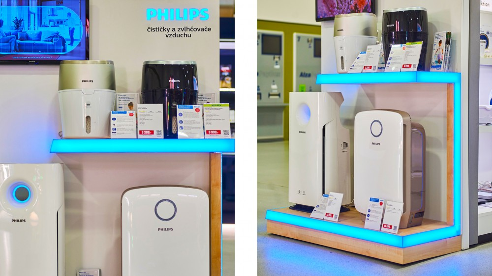 Philips Air, 1 - shop in shop