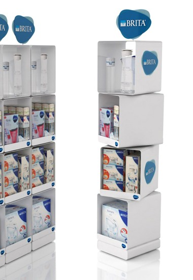 Brita - floor displays